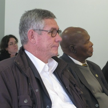 Click the image for a view of: Prof Andre Odendaal, Mr Ray Mali at the HSRP AGM.