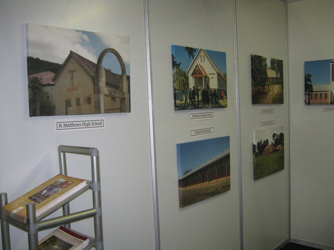 Click the image for a view of: HSRP Stand at Exhibition